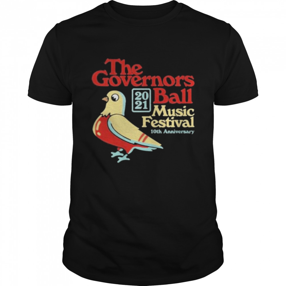 The Governors 2021 Ball Music Festival 10Th Anniversary Shirt