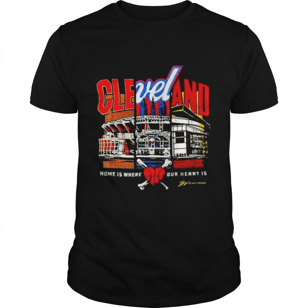 Cleveland Browns Home Is Where The Heart Is Shirt