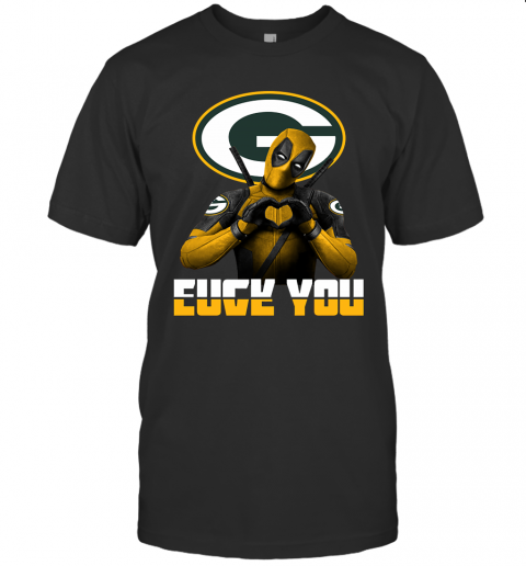Green Bay Packers X Deadpool Fuck You And Love You Nfl Shirt